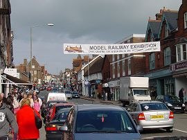 Exhibition Banner across High Street