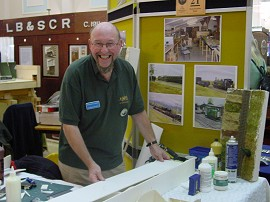 Demonstration Stand: Keith Harcourt
